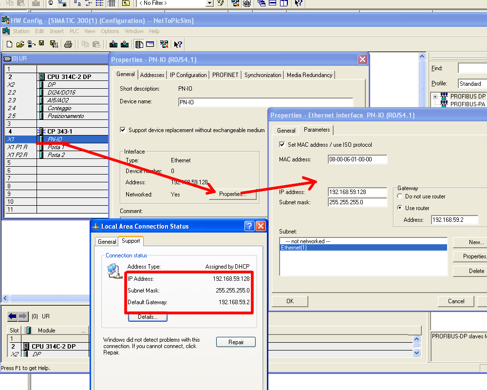 NetToPlcSim: how to connect Step 7 PLC-Sim to Scadas – Mesta