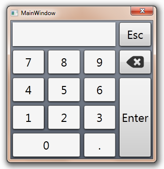 Keypad for WPF applications with touch-screen – Mesta Automation