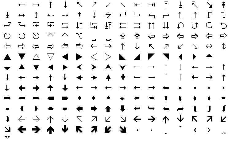 police wingdings