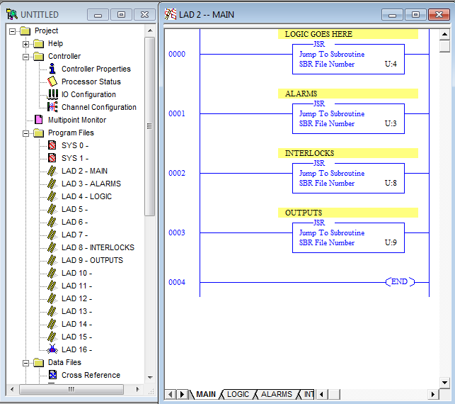 writing alarms and interlocks in plc programs  u2013 mesta