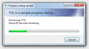 progress dialog wpf c