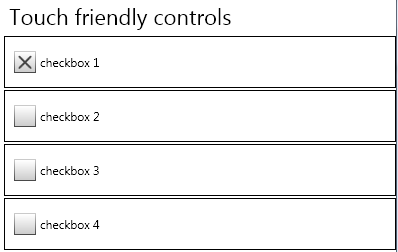 WPF touch-friendly controls for resistive touch-screen – Mesta