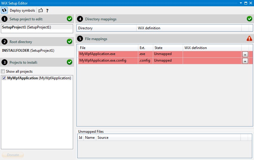 Create an MSI/Setup Package for C# with WiX Toolset – Mesta