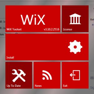 wix installer