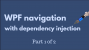 WPF navigation 1