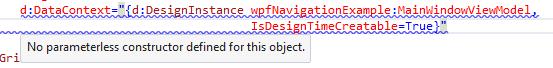 design data error