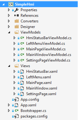 HMI with C# and WPF part 2: Navigation with PRISM – Mesta